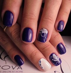 A nail polish of purple hue always looks unusual on the nails. Even if you have got short nails, you ...