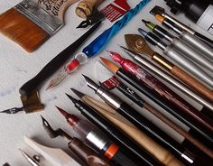 """Check out new work on my @Behance portfolio: """"My calligraphy tools"""" http://be.net/gallery/49525865/My-calligraphy-tools"""