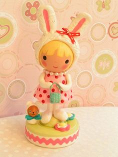 Sweetiepiecaketopper Bunny Rabbit Birthday by SweetiePieCaketopper, $100.00