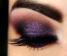 Purple Make up [ hairburst.com ] #makeup #style #natural