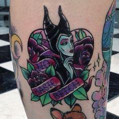 Carla Evelyn maleficent tattoo