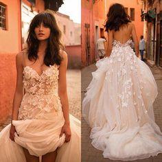 Blush Pink Wedding Dress, Lace Beach Wedding Dress, Wedding Dresses With Straps, Sweetheart Wedding Dress, Perfect Wedding Dress, Tulle Wedding, Cheap Wedding Dress, Bridal Dresses, Wedding Gowns