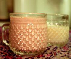 Leite de quinoa com cranberry