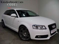 Audi A3 2.0TDi Diesel S Line Black Edtion Sportback 5 door 6 speed. 2010 '59' Registered February 2010, 34K, Demo + 1 owner.    Full Audi Service History with 3 services – 09/10 at 9545, 07/11 at 19683, 02/12 at 29148.    Finished in Ibis White with Black Vienna leather upholstery & Piano Black inlays.    ***FACTORY FIT OPTIONS – VIENNA LEATHER, CRUISE CONTROL, INTERIOR LIGHT PACK INC VANITY MIRROR***     £17991
