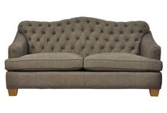 "Brinkley 77""  Sofa, Slate"