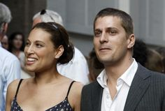 Rob Thomas and his wife Marisol