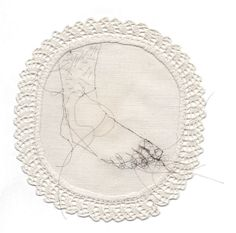 """Hair Embroideries"" by artist Sula Fay"