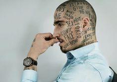 Face Tattoos, San, Portrait, Headshot Photography, Portraits