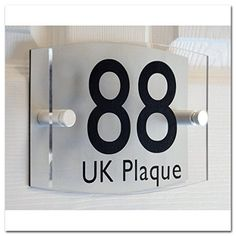 Up Down Rounded Rectangle Double Paste BLACK TEXT Effect | Modern Design Personalised Crystal Clear Acrylic Plaque & Silver Aluminum Decorative Back Plate House Numbers Signs | Street Name Signs | House Name Plaques | House signs | Door Plaques (4 Font Styles To Choose), http://www.amazon.co.uk/dp/B0148KRSZW/ref=cm_sw_r_pi_awdl_bB6Uwb1NXYJS1