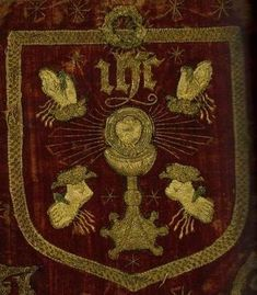 This is the banner that was used in the 1536 - 1537 uprising against Henry VIII, the Pilgrimage of Grace, which was led by Robert Aske. In the rebellion, people marched under the banners of the five. History Of England, Uk History, Mystery Of History, Tudor History, European History, British History, Ancient History, Pilgrimage Of Grace, Tudor Era