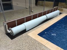 Pool Blanket Boxes Australia - Sydney Pool and Outdoor Design Porches, Pool Cover Roller, Hidden Pool, Blanket Box, Swimming Pools Backyard, Cool Pools, In Ground Pools, Australia, Building