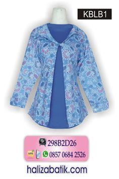 Batik Wanita, Model Baju Batik Terbaru, Grosir Baju Batik murah, KBLB1. Harga Rp 60.000