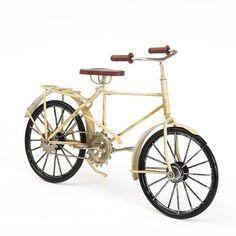 Miniatura Decorativa - Bicicleta Branca
