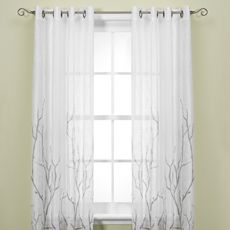 $89.99 108 Inch Majestic 63 Inch Blackout Lined Grommet Window Curtain  Panel In Cream | Curtains | Pinterest | Window Curtains And Window