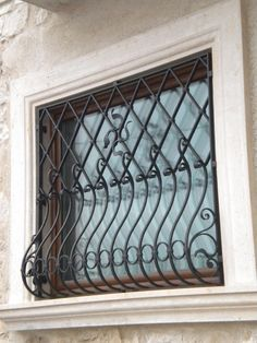 Choose wrought iron grilles