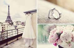 Ispirazioni e idee per realizzare un matrimonio a tema Parigi: allestimento, look sposi e tanti dettagli. (www.lovestoryteller.it)