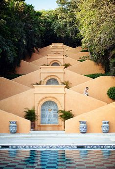 Cuixmala, Mexico:  architecture