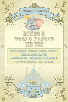 A Dumbo Themed Baby Shower | The Magical Day Baby Blog | A Disney Fan Site for Parents