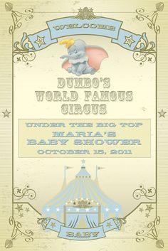 Dumbo Themed Baby Shower