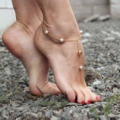 product image for Luna Anklet Foot Pics, Foot Pictures, Beautiful Toes, Pretty Toes, Feet Soles, Women's Feet, Foot Photo, Barefoot Girls, Ankle Chain