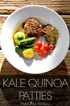 from thank your body kale quinoa patties kale and quinoa patties make ...