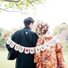 はんなり華やか♡和装の時に使いたい前撮り用小物アイデアまとめ*   marry[マリー]