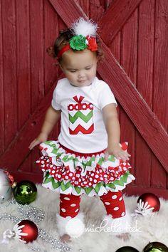 MANGA corta bebé o niño pequeño Navidad por amysbuttonsandbows, $85.00