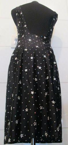 Vintage Sparkling Rhinestones and Stars Spandex by MISSVINTAGE5000, $65.00