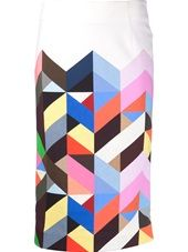 Preen By Thornton Bregazzi - 'Tilda' pencil skirt