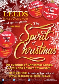 The Spirit of Christmas 2015 poster has landed!