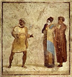 I did a research paper for an undergraduate program about Roman comedy but it is on the hard drive of my home computer. Ancient Rome, Ancient Greece, Ancient Art, Ancient History, Rome Antique, Art Antique, Roman History, Art History, Art Romain