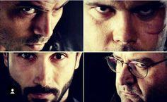 Ciro, Genny, Conte, Pietro