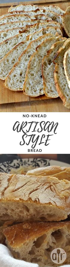 """No-Knead Artisan Style Bread 