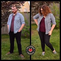A lovely Follower Friday from fellow #yegblogger @light0a0candle and her… Foxes, Flannel, Friday, Menswear, Photo And Video, Instagram, Fashion, Flannels, Moda
