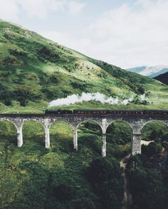 Glenfinnan viaduct #travel #places