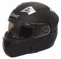 Masei Matt Black 815 Flip-Up Motorcycle Helmet Free Shipping Worldwide