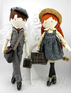 Anne and Gilbert by Liliput Loft