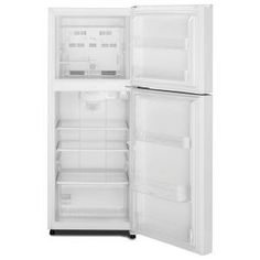 Whirlpool  Cu Ft Top Freezer Refrigerator In White Top - Small freezers at home depot