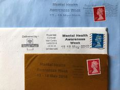 My birthday cards have started arriving (cause it's my birthday on Sunday 🥳) and they've all been stamped with a Mental Health Awareness Week stamp. Go Royal Mail! Stop The Stigma, Mental Health Conditions, Royal Mail, Mental Health Awareness, Ptsd, Mental Illness, Anxiety, Birthday Cards, Sunday
