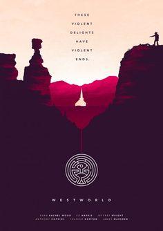 Joseph Harrold's Westworld Poster
