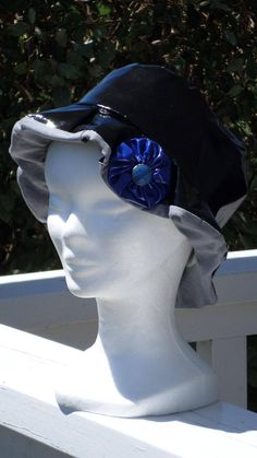 09ede92ad249 Beanie beret rain child   black and blue   creation linen   eva spring was  vinyl and cotton blue gray