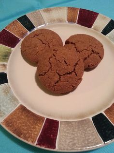 Grain Free, Gluten Free, Dairy Free, Processed Sugar Free, and even Egg Free Molasses Cookies