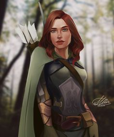 Commission: Piper Archibald by HalChroma