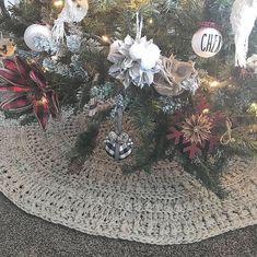Crochet Pattern Crochet Tree Skirt Tree Skirt Pattern | Etsy Christmas Tree Skirts Patterns, Crochet Christmas Decorations, Crochet Christmas Trees, Holiday Crochet, Christmas Tree Toppers, Christmas Bulbs, Christmas Ornament, Christmas Time, Christmas Ideas