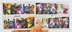 2-sheets-Harley-Quinn-Nail-Decals-Superman-Batman-Nail-Design-super-hero-Nail