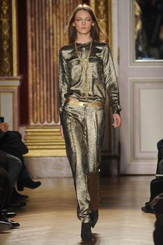 Everything that glitters is not gold.   Glitter overload. The Fourteen Biggest Trends From the Fall 2012 Runways -- The Cut