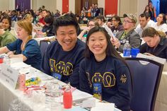 Awesome Shirts From Convention: Classic sweatshirts from Rho Rho Chapter - UC-Irvine