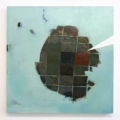 Camille Hoffman Archetype, 2012, oil on canvas, 24 x 24 inches