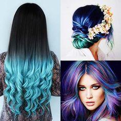 Já pensou em ter #cabeloazul? E que tal #cabelosazuisturquesa? Vem conhecer essa cor que nao sai da cabeça das famosas! http://salaovirtual.org/cabelo-azul-turquesa/ #coresdecabelo #salaovirtual