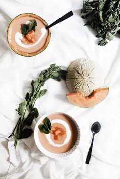 cold melon soup